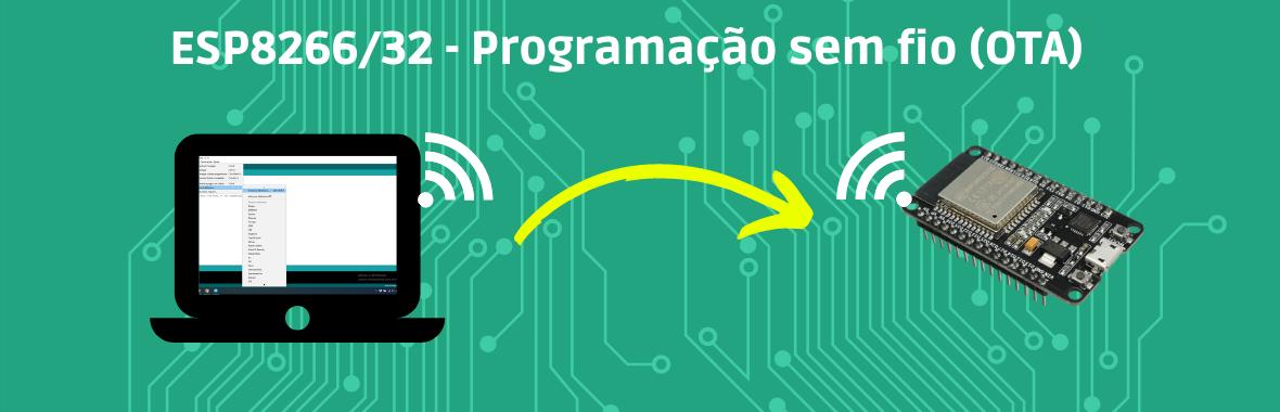 ESP8266/32 – Programação sem fio (OTA)